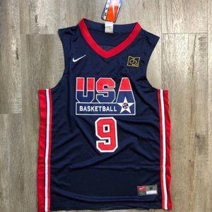 NEW LOS USA Michael Jordan Team USA Jersey #9